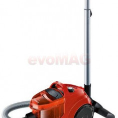 Aspirator fara sac Bosch BGC1UA110, 1.4l, 700W (Rosu)