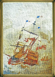 Goblen Fregata in furtuna