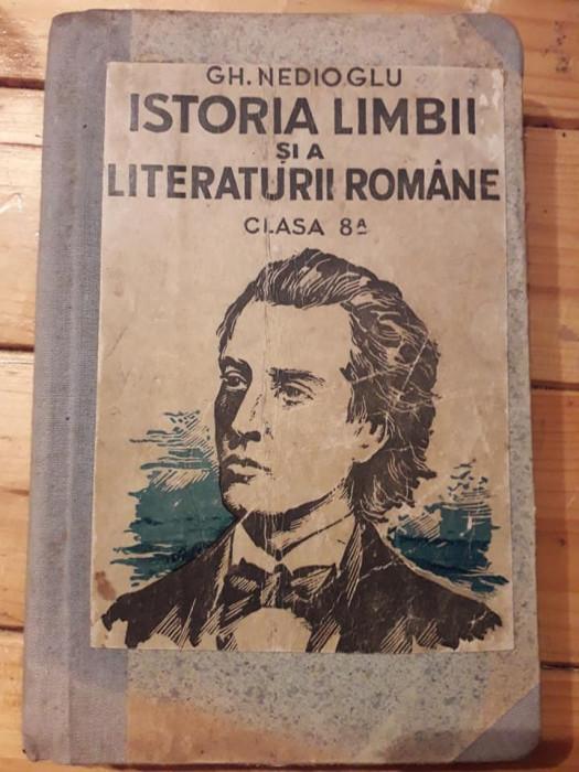Manual Limba romana in evolutia ei istorica si literara clasa a VIII-a Nedioglu