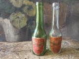 Vechi lot de sticle cu eticheta Diana Aromatica Fabrica de Medicamente Galenica