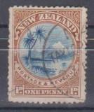 NEW ZEALAND, 1898, stampilat (G1)