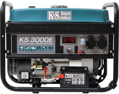 Generator curent KS 3000E Könner & Söhnen Germany, 3.0 kW, benzina, E-start foto
