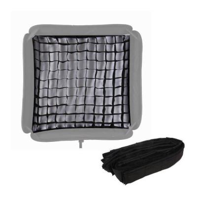 Grid honeycomb softbox 60x60cm foto
