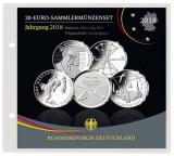 Folie pentru 5 seturi de monede