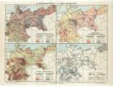 Lot 5 harti Germania 1895