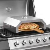 Cuptor de pizza cu piatră ceramică pentru grătar gaz, cărbuni