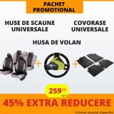 Pachet Promotional Huse Scaune & Husa Volan & Covorase PP11