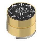 Gel UV Spider Canni, 8 ml, Black