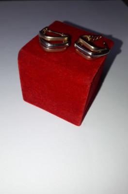cercei de aur foto