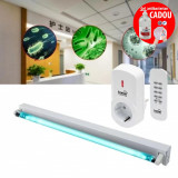 Lampa bactericida UVC 36W, tub Phillips, dezinfectare suprafata 36 mp, control telecomanda