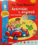 Cumpara ieftin My Time Machine. Activități în Engleză pentru timpul liber cu CD audio și benzi desenate! (5+ ani)