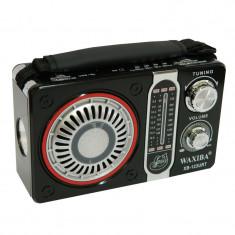Radio portabil Waxiba XB-123URT, suport card SD/USB