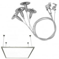 Kit suspendare panou LED, material aluminiu