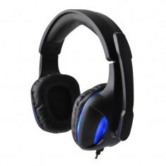 Casti gaming Havit HV-H2190D, USB, Negru/Albastru, Casti cu microfon