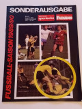 Ghidul Oficial de Fotbal - sezonul 1989/1990 DDR (Germania Democrata)