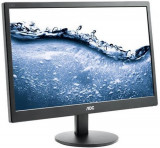 Monitor TN LED AOC 19.5inch E2070SWN, HD+ (1600 x 900), VGA, 5ms (Negru)