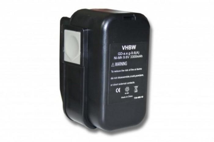 Acumulator pentru aeg 2000 u.a. 9.6v, ni-mh, 3300mah, 4 932 366 429, B9.6
