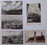 Lot 5 Carti Postale RPR Turda - Anii 1950-1970, circulate