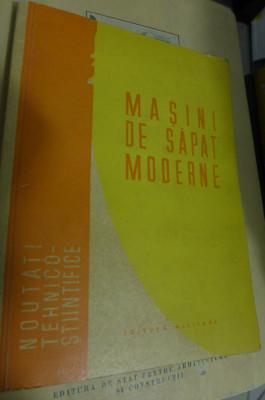 Masini de sapat moderne Rolland Eminet - Editura Militara foto