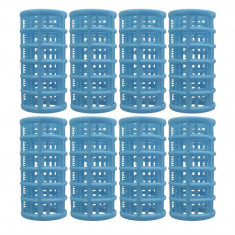 Set bigudiuri cilindrice Oranjollie, 8 bucati, plastic foto