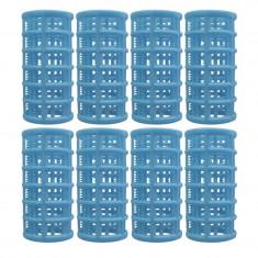 Set bigudiuri cilindrice Oranjollie, 8 bucati, plastic