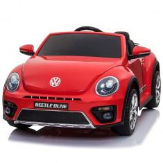 Masinuta electrica Chipolino Volkswagen Beetle Dune Red