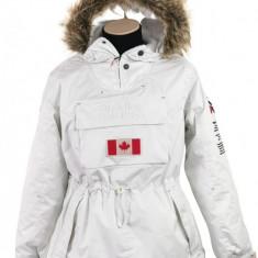 Geaca alba de iarna Canadian Peak