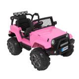 Mașinuță pentru copii LEADZM LZ-905 Remodeled Jeep, Roz
