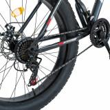 Bicicleta MTB-Fat Bike 26 inch Velors CSV2619B gri cu design rosu