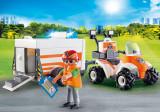 Medic cu ATV si remorca PlayLearn Toys