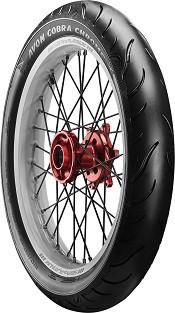 Motorcycle Tyres Avon Cobra Chrome ( 100/90-19 TL 57V Roata fata ) foto