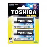 Set 2 baterii Alkaline Toshiba R20 D