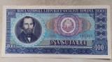 BANCNOTA 100 LEI 1966-ROMANIA (A.0003)