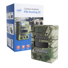Aproape nou: Camera vanatoare PNI Hunting 2C, 8MP, 720P, night vision, 26 leduri IR