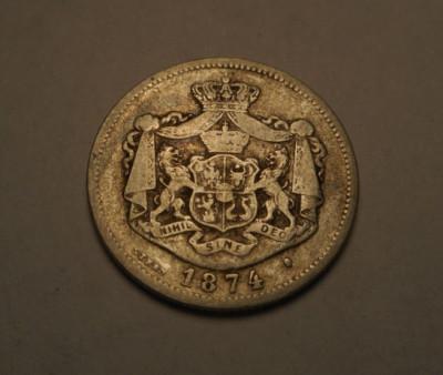 1 leu 1874 foto