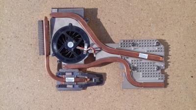 Radiatoare procesor si placa video cu ventilator HP EliteBook 8730w (6043B0045901/6043b0054801/6033B0015001) foto