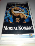 Film VHS-Actiune Karate-Mortal Combat