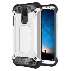 Husa Iberry Armor Hybrid Argintie Pentru Huawei Mate 10 Lite 2017