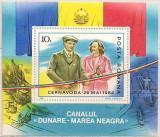 B0297 - Romania 1985 - Canalul Dunare-Marea Neagra bloc neuzat,perfecta stare, Nestampilat
