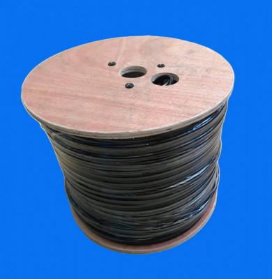 Cablu coaxial RG59 CCA cu alimentare Hikvision, DS-1LC1SCA2C-200B; Lungime 200 foto