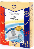 Sac aspirator AEG GR 22 24 25, sintetic, 4 saci + 1 filtru, KM