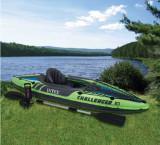 Canoe Gonflabila INTEX Challenger K1 274 x 76 cm, cu vasle şi pompa incluse., Canoe pentru Trekking