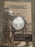 Moneda argint 130 de ani de la înfiinţarea Băncii Naţionale a României