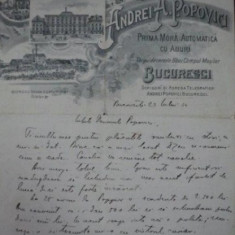 FABRICA SI RAFINARIE DE SPIRT , FABRICA DE BORHOT ANDREI POPOVICI, LITOGRAFIE 1884