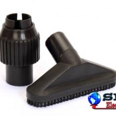 Set perie universala si reductor de aspirator 30-37mm K&M
