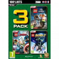 Lego 3 Pack V.3 (Jurassic World - Avengers - Batman 3) PC
