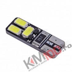 Bec LED 6 SMD 5730 12V ALBA CANBUS COD: PT130