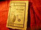 I.Turgheniev - Iacob Pasinckof -Bibl. Minerva 161 ,117pag ,trad.I.Pascanu