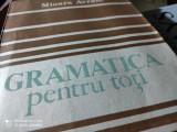 GRAMATICA PENTRU TOȚI - MIOARA AVRAM, ED ACADEMIEI 1986, 414 PAG