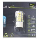 Bec LED SMD 4W Bulb Alb Rece 6500K G4 12V Skyline SL1387, Becuri LED